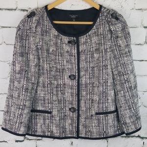 Talbots Tweed Blazer 14
